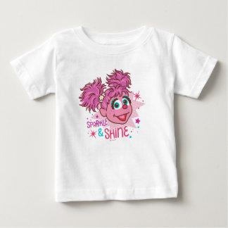Sesame Street   Abby Cadabby - Schein u. Glanz Baby T-shirt