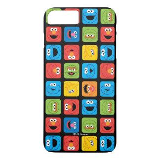 Sesame Street Rauminhalt berechnetes iPhone 8 Plus/7 Plus Hülle