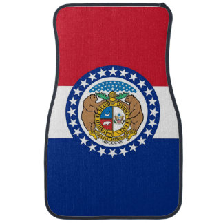 Set Automatten mit Flagge von Missouri, USA Automatte