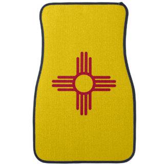 Set Automatten mit Flagge von New-Mexiko, USA Automatte