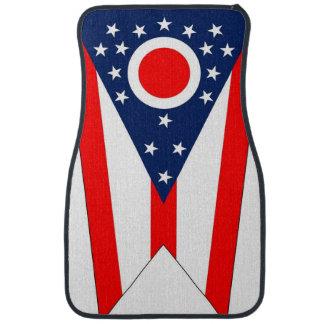 Set Automatten mit Flagge von Ohio-Staat, USA Automatte