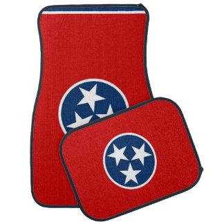 Set Automatten mit Flagge von Tennessee, USA Automatte