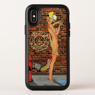 Sexy Feuerwehrmann OtterBox Symmetry iPhone X Hülle