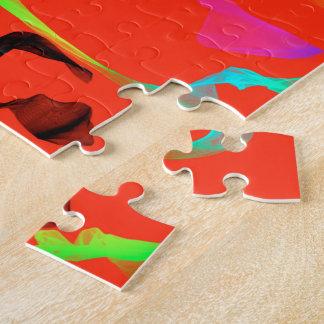 Sexy Tänzer-abstraktes Puzzle