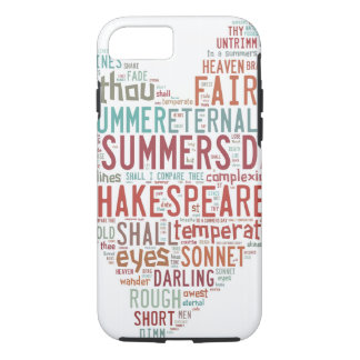 Shakespeare-Sonett 18 iPhone 8/7 Hülle