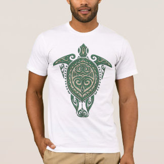 Shamanic Meeresschildkröte-Symbol + Ihre Ideen T-Shirt