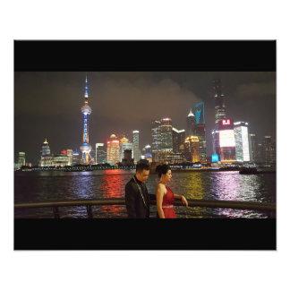 Shanghai-Träume Fotodruck