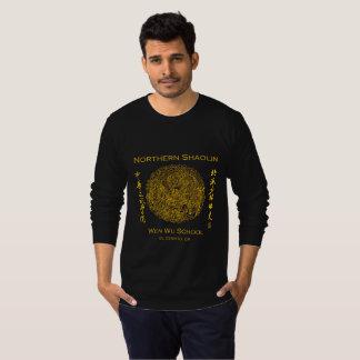 Shaolin langes Sleave für Männer T-Shirt