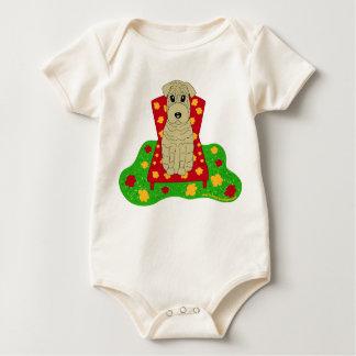 Shar Pei Baby Strampler