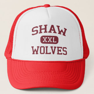 Shaw - Wölfe - Mitte - Philadelphia Pennsylvania Truckerkappe