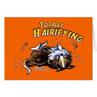 Sheltie total Hairifying Karte