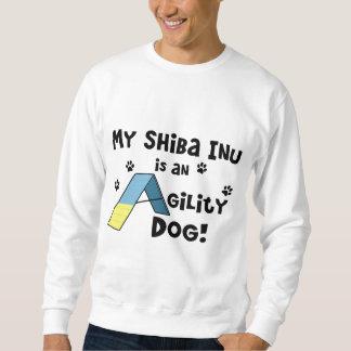 Shiba Inu Agility-Hund Sweatshirt