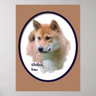 Shiba Inu Kunst-Geschenke Poster