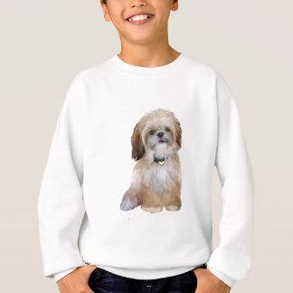 Shih Tzu (P) - mit der Zunge heraus Sweatshirt