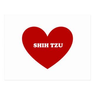 Shih Tzu Postkarte