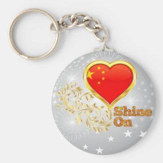Shine auf China Schlüsselband