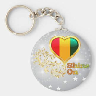 Shine auf Guinea Schlüsselbänder