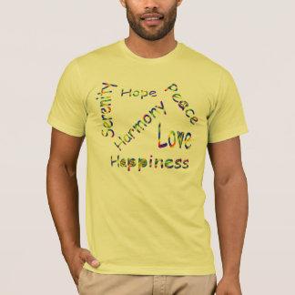 SHIRT.901.PEACE, LIEBE, HARM.TSHIRT.LEMON T-Shirt