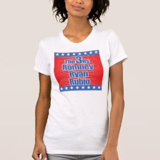 Shirt der Damen-3Rs des Tee-(Party)
