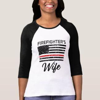 Shirt der roten Linie Frauen der Ehefrau des