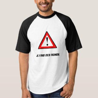 Shirt witziges für die Praxis des Tennis!