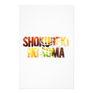 Shokugeki kein Soma Briefpapier