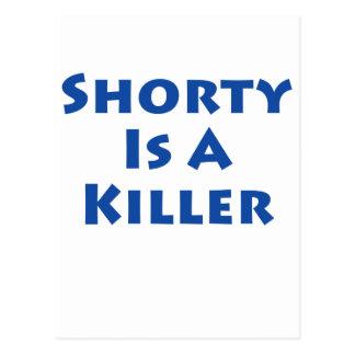 Shorty ist ein Mörder Postkarte
