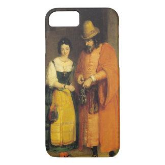 """Shylock und Jessica """"vom Kaufmann von Venedig"""", iPhone 8/7 Hülle"""