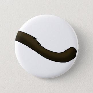 Siamesische Katzen-Schwanz Runder Button 5,1 Cm