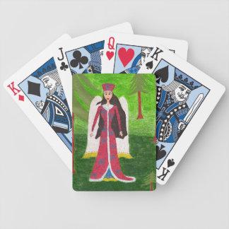 Sibirischer Engel Pokerkarten
