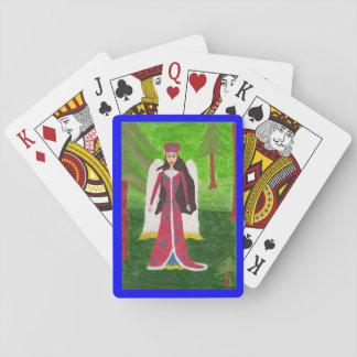 Sibirischer Engel Spielkarten