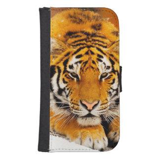 Sibirischer Tiger Samsung S4 Geldbeutel Hülle