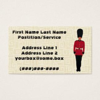 Sicherheit Visitenkarte