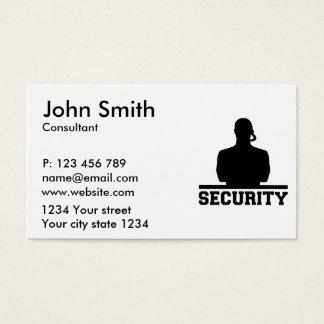 Sicherheit Visitenkarten
