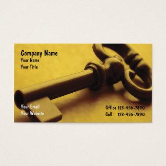 Sicherheits-Geschäft Cards_1 Visitenkarte