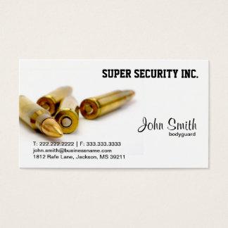 Sicherheits-Leibwächter-Kugeln Visitenkarten
