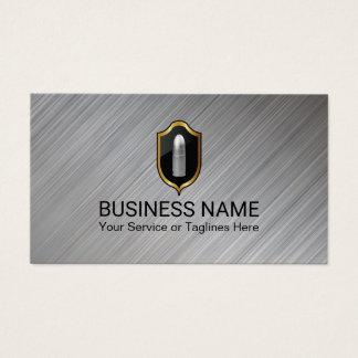 Sicherheits-Schutz-Silber-Kugel-berufliches Metall Visitenkarten