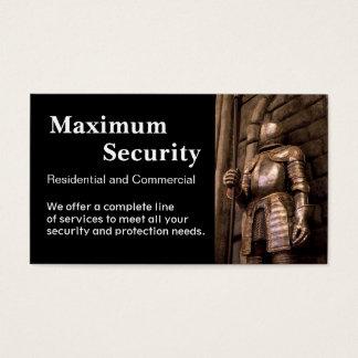 Sicherheits-Unternehmen Visitenkarten