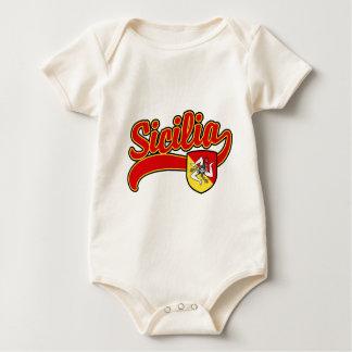 Sicilia Baby Strampler