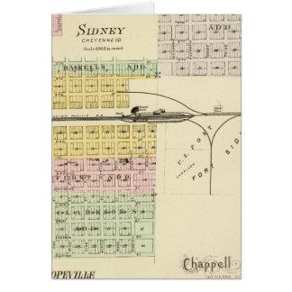 Sidney, Nebraska Grußkarte