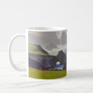 Sie fand sich in der Nebel-Kaffee-Tasse Kaffeetasse