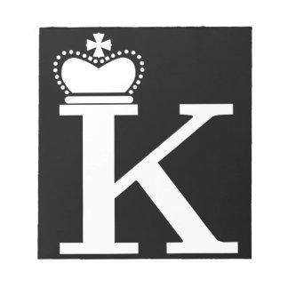 SIE geben K mir Logo Notizblock