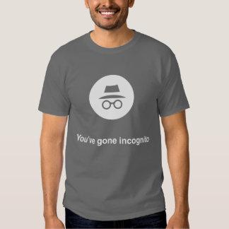 Sie haben gegangenes unbekanntes Google-Chrom Tshirts