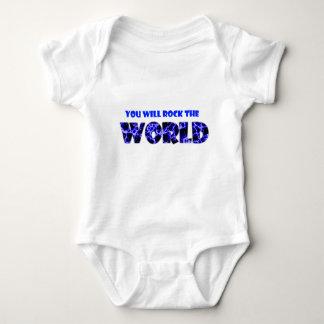 Sie schaukeln die Welt Baby Strampler