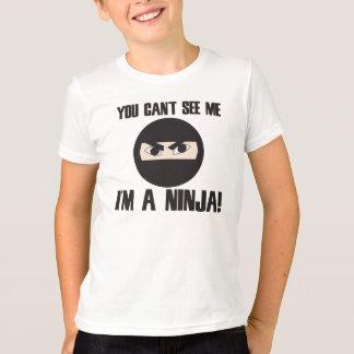 Sie schräg sehen, dass ich ich ein ninja bin T-Shirt