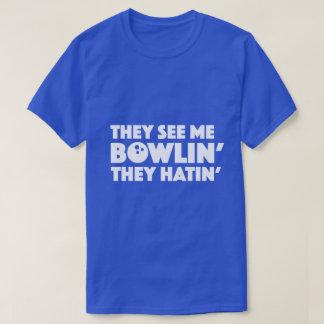 Sie sehen mich lustiges Wortspiel-Shirt des T-Shirt