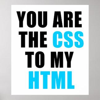 Sie sind der CSS zu meinem HTML Poster