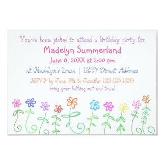 Sie sind der Geburtstags-Einladung des 8,9 X 12,7 Cm Einladungskarte
