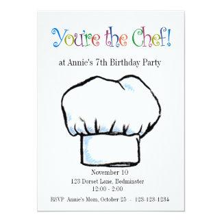 Sie sind die Kochseinladung 14 X 19,5 Cm Einladungskarte