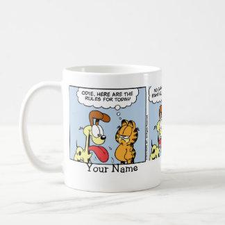 """""""Sie sind eine Katzen-"""" Garfield-Comic-Streifen Tasse"""